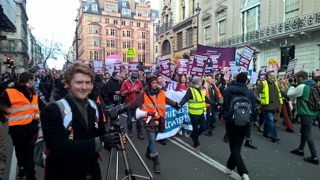 education demonstration 2016