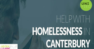 Help with homelessness in Canterbury this month