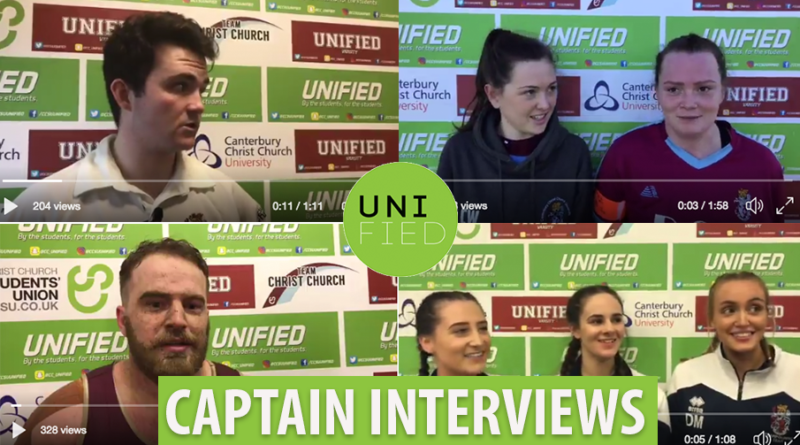 WATCH: All the Captain Varsity Interviews