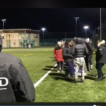 WATCH: Touchline chaos at Men's football 2nds