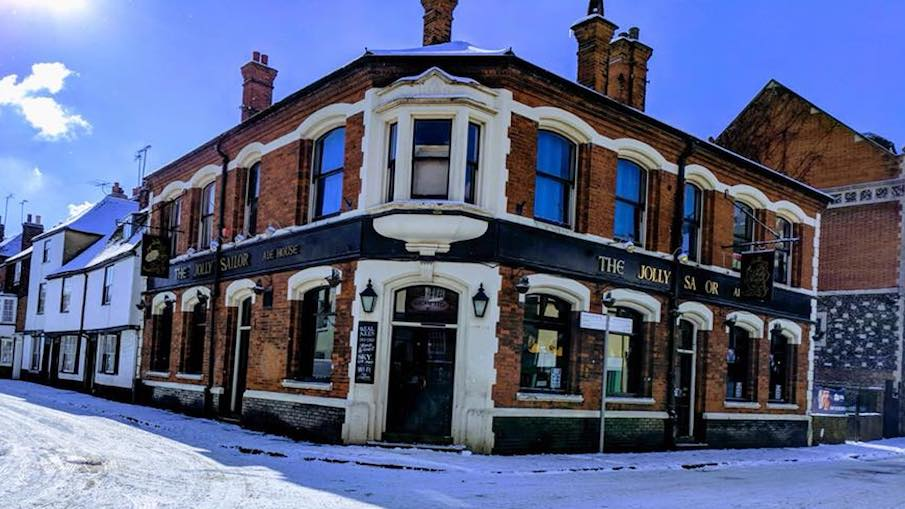 The Jolly Sailor Pub is saying goodbye